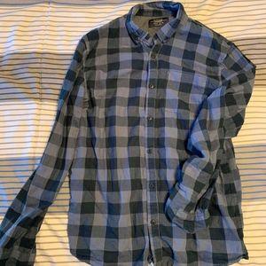 Pull&Bear Shirts - Pull & Bear Plaid Button Down Shirt.